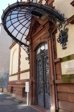 Tür in Mannheim