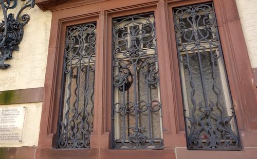 Fenster des Hauses