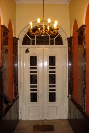Innenseite der Eingangstür