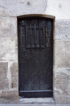 Tür aus Zaragoza