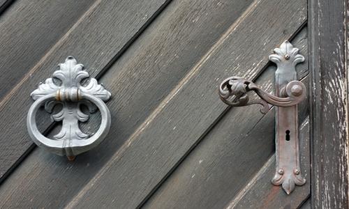 Türklinke und Ring