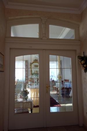 Tür zum Frühstücksraum