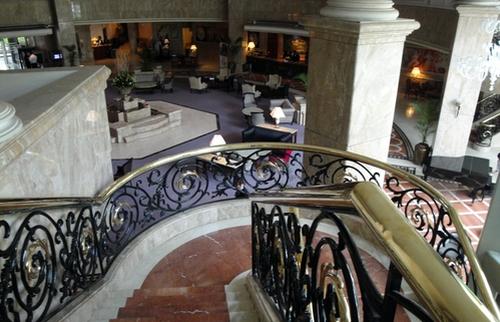 Blick in die Hotellobby