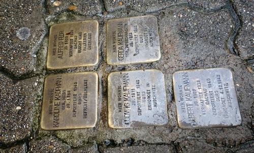 Stolpersteine in der Rohrbacher Straße in Heidelberg