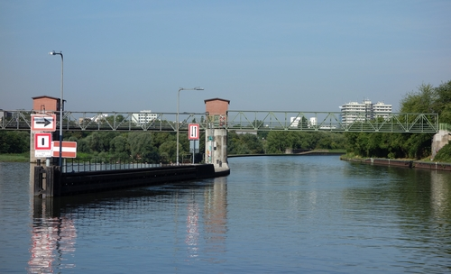 Neckarkanal Schwabenheim