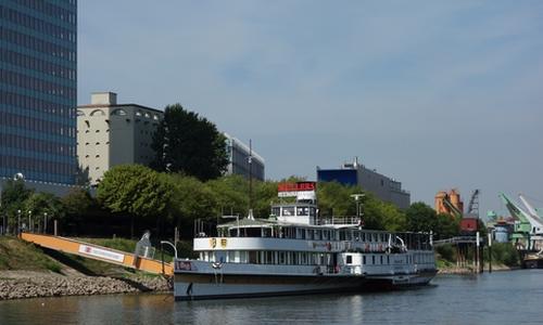 Museumsschiff in Mannheim