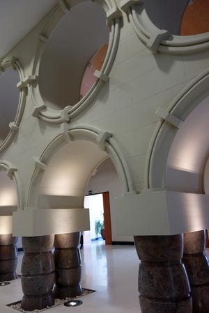 Säulen im Rathaus