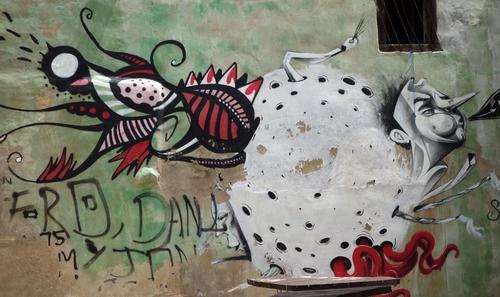 Kunst an der Hauswand 2